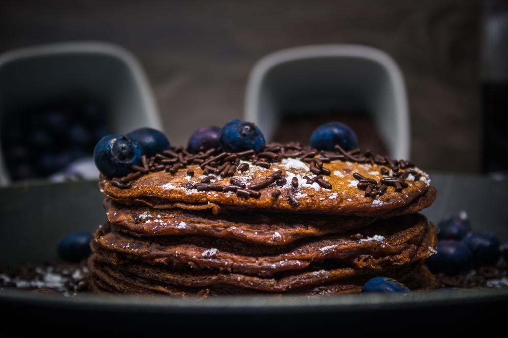 Schoko Pancakes