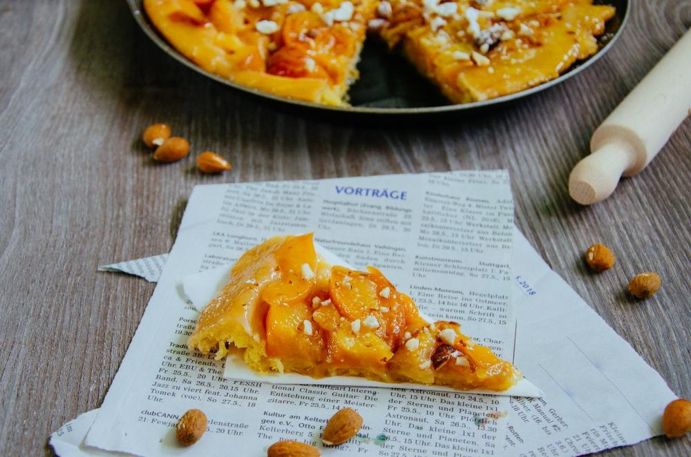 Tarte Tatin mit Pfirsichen
